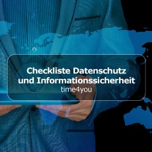 Checkliste Informationssicherheit und Datenschutz bei HR-Lösungen